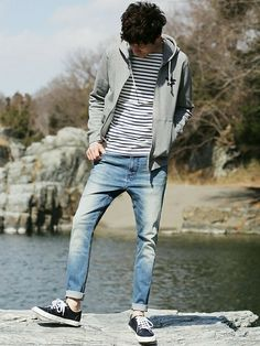 menswear which looks great 9112 which looks great 91124 Normcore Fashion, Boy Fashion, Trendy Fashion, Korean Fashion, Mens Fashion, Fashion Outfits, Cool Outfits, Casual Outfits, Men Casual
