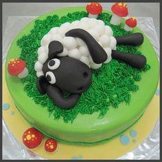 shaun the sheep cake topper chocolate - Google Search