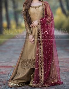 For more information 03315666933 We can Customize any outfit the way you want in. Indian Fancy Dress, Party Wear Indian Dresses, Pakistani Fashion Party Wear, Designer Party Wear Dresses, Party Dresses Online, Kurti Designs Party Wear, Pakistani Bridal Dresses, Pakistani Dress Design, Indian Designer Outfits