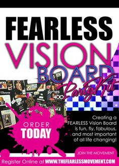 vision board party event planning pinterest parties - Vision Board Party Invitation