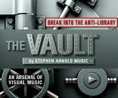 """""""The Vault"""" production music library -- an arsenal of visual music."""