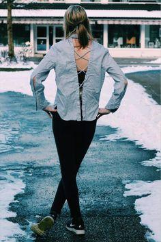 Skjorte fra Kouture. Bukse fra Ginatricot. Sko fra DNA. Jakke husker jeg ikke, haha. ⭐ Classy Outfits, Bomber Jacket, Jackets, Fashion, Blogging, Dapper Clothing, Down Jackets, Moda, Fashion Styles