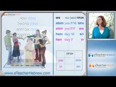Learn Hebrew lesson 10 - Pronouns | by eTeacherHebrew.com