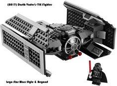 (8017) Darth Vader's TIE Fighter Year: 2009 Pcs: 251 Minifigs: 1 Retail: $29.99 Retired