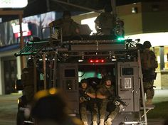 White House conducting review of military equipment being sent to police forces