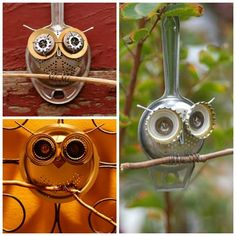 Kreativ genbrug med metal Diy Recycle, Recycling, Washer Necklace, Creative, School Ideas, Crafts, House, Etsy, Manualidades