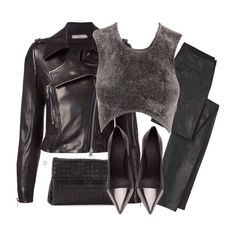 Bouchra Jarrar jacket ($8581), Alexander Wang top (sold out), Helmut Lang pants (sold out), See by Chloe pumps ($410) and Bottega Veneta clutch ($1220) xx #Padgram