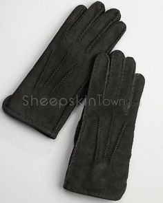 Shop SheepskinTown for the best selection of Women's Sheepskin Gloves. Buy the Black Sheepskin Suede Gloves for Women by FRR with fast same day shipping. Mitten Gloves, Mittens, Sheepskin Gloves, Soft Suede, Suede Leather, Black, Women, Fashion, Fingerless Mitts
