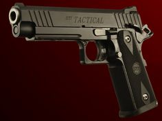 A twist on a classic.  STI Tactical 5.0 2011 (1911 style)   Made in Texas