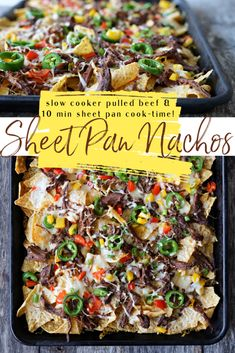 Raising Generation Nourished Gluten Free Nachos, Pulled Brisket, Ground Beef Tacos, Recipe Sheets, Shredded Beef, Roast Beef, Healthy Recipes, Healthy Meals, Sheet Pan