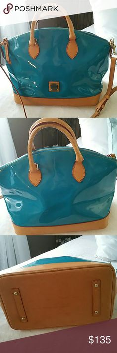 Dooney & Bourke pocketbook new Dooney & Bourke pocketbook teal color Bags Shoulder Bags