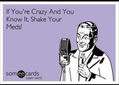 I usually tend to simply grin at some ecards, but that's about it. But I chuckled when I read this one. So I pinned it.