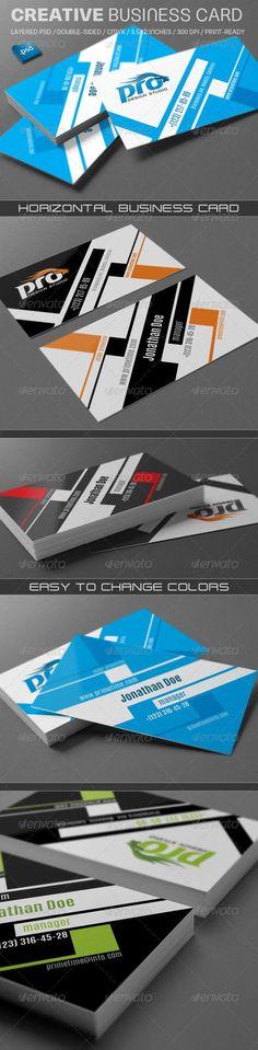 Creative Business Card Template PSD. Download: http://graphicriver.net/item/creative-business-card-v740/8644532?ref=ksioks