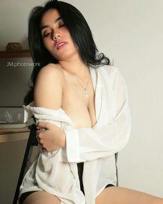 Sexy maid curvy asian