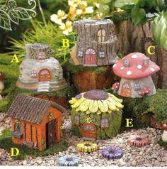 Amazon.com: Grasslands Road Fairytale Garden Fairy House, One Individual: Patio, Lawn & Garden