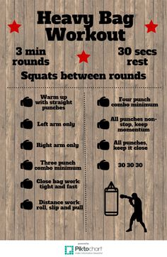 10 round heavy bag workout - Imgur More