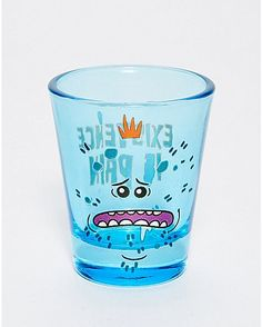 Mr. Meeseeks Shot Glass 1.5 oz. - Rick and Morty - Spencer's