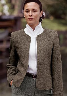 Just found this Womens Dress Jacket - Donegal Tweed Cardigan Jacket -- Orvis UK on Orvis.com!