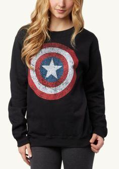 Captain America Sweatshirt | Sweatshirts & Hoodies | rue21