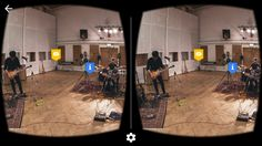 Google's new virtual reality app enables music fans to take a 360-degree tour of Abbey Road Studios.  The legendary North London recording studio has hosted a range of notable recording artists, perhaps most famously The Beatles.  The VR app has been designed to work with Google's affordable Cardboard