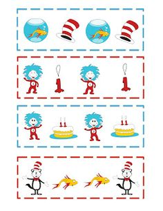 Favorite Dr. Seuss activities for preschool. Repinned by playwithjoy ...