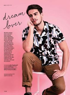 Alijah Harrison y Harry Rowley para Gay Times Magazine - Male Fashion Trends