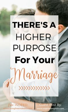"""A marriage defined by the love of God and not just by the """"feeling"""" kind of love is a marriage that beautifully represents the gospel. 