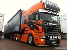 Truck Scania | Is this a Longline (eXc) or a custom? LastbilGalleri.dk