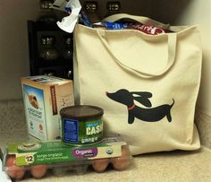 Dachshund Grocery Tote Bags – The Smoothe Store