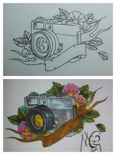 Tattoo Kamera Flash