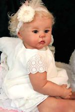 D826 Lovely Reborn Baby Girl Doll Child Friendly H 22 inch Tailor Made