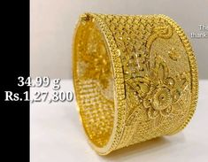 Gold Bangles For Women, Gold Bangles Design, Gold Earrings Designs, Gold Jewellery Design, Gold Wedding Jewelry, Gold Jewelry Simple, Golden Jewelry, Gold Mangalsutra Designs, Fashion Jewelry
