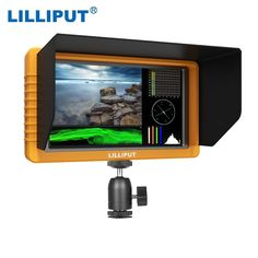 """LILLIPUT Q5 Camera Camcorder Mini Monitor 5.5"""" IPS Screen 1920 * 1080 Full HD Support HDMI/SDI Input Output Cross Conversion 160 Degree Wide Viewing Angle with Free Shipping 