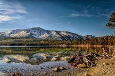 Fallen Leaf lake, California (USA).