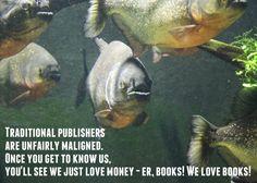 Ravenous fish get such a bad press...