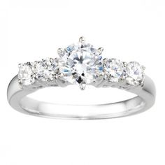 Ring (2554) by Rommanza Bridal