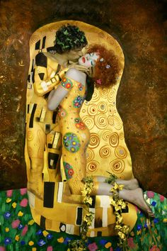 The Kiss, Gustav Klimt.