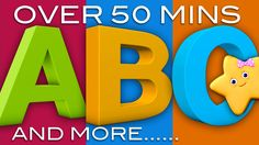 ABC Song | ABC Songs and More Nursery Rhymes! | 51 Minutes! | 3D Animati...