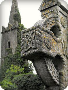 Abandoned church between Dingle and Kinsale, Ireland