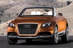 ✨ 2007 Audi Quattro SUV Convertible Concept