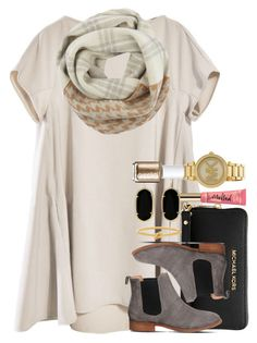 """""""comment some holiday contest hashtags so I can enter them!!"""" by thefashionbyem ❤ liked on Polyvore featuring Woolrich, Michael Kors, Office, Kate Spade, Kendra Scott and Essie"""