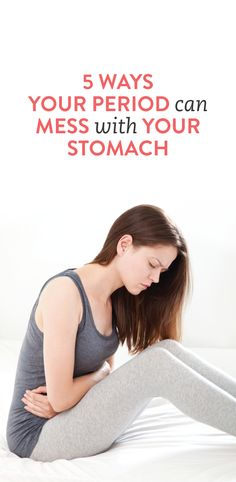 stomach issues demystified: how your period affects your #health ambassador