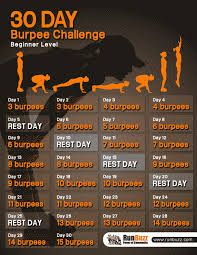 Burpees, Burpee Challenge, 30 Day Workout Challenge, 2017 Challenge, Plank Challenge, Sport Motivation, Exercise Motivation, 30 Day Fitness, Health Fitness