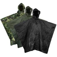 Military Style Waterproof Poncho This waterproof poncho from Mil-tec...