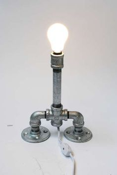 How To: Pipe Lamp