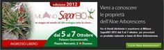 #SaporBIO 2012 #Milano consulenza gratuita per prodotti a base di Aloe Arborescens Verdi Alchimie previa iscrizione su questa pagina: https://www.facebook.com/aloearborescens.Verdialchimie/app_106171216118819