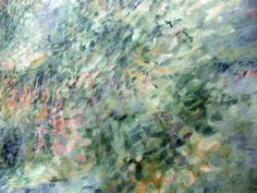 Impressionist Fabric by GertrudesVintage on Etsy