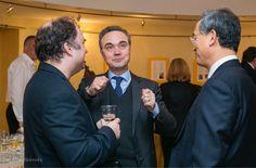 Nayden Todorov, Stefano Baldi and Shin Bunam at Bulgaria Hall