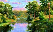 Nature Landscapes Prints by Edna Wallen