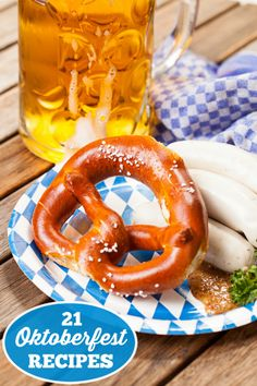 21 Oktoberfest Recipes - Bring the festival to your home with these delicious 21 Oktoberfest recipes!